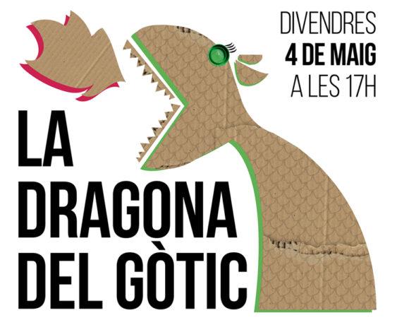 """Construcción en directo de """"La dragona del gòtic"""""""