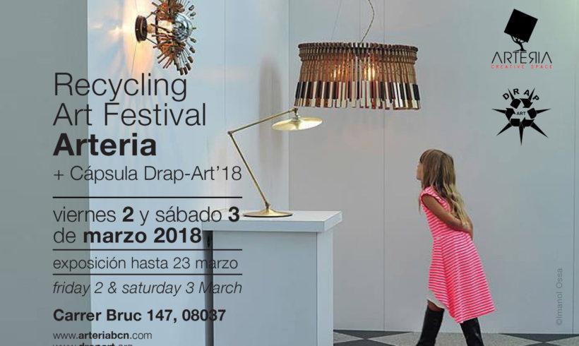 Cápsula Drap-Art´18 en Recycling Art Festival Arteria