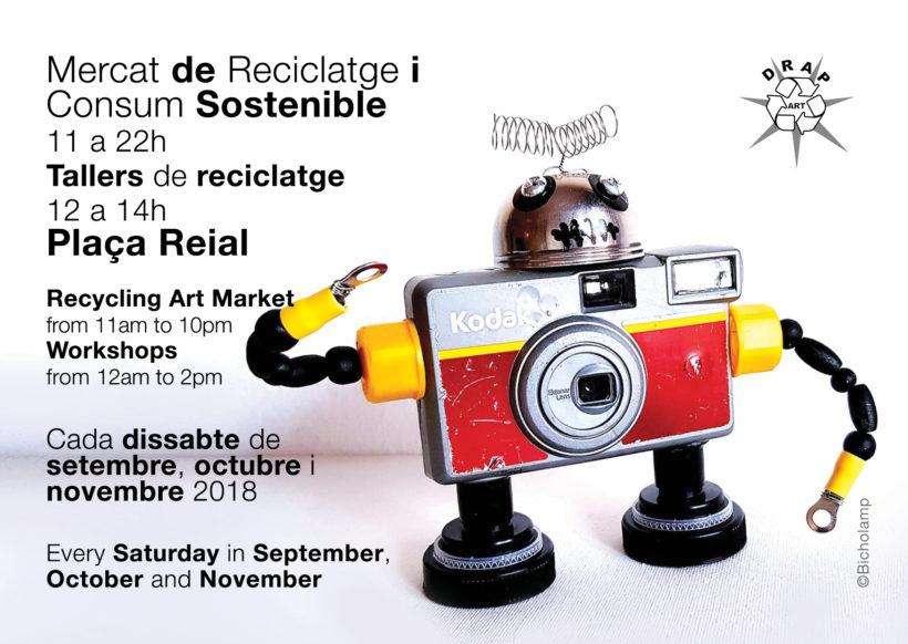 Mercado de Reciclaje y Consumo Sostenible Plaza Real