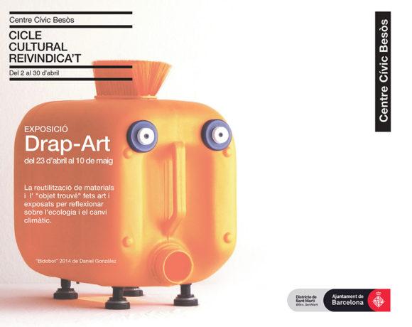 Exposición Drap-Art Ciclo Reivindícate 2019