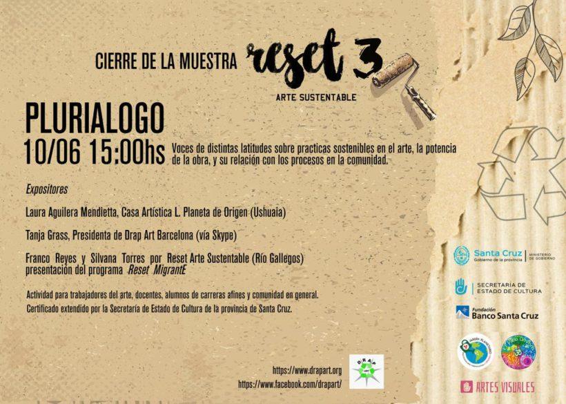 Drap-Art participates in Reset 3 Plurialogo