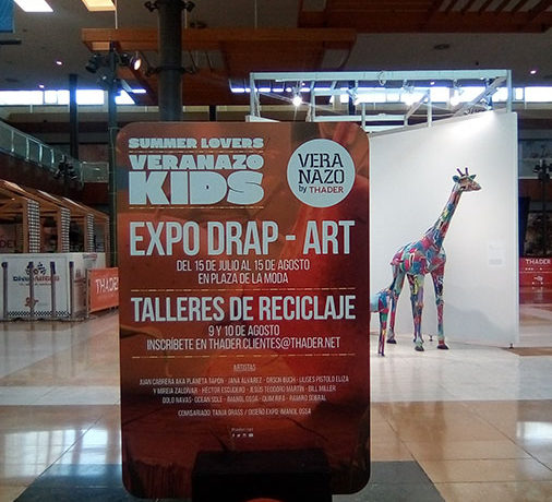 Drap-Art in Murcia /Exhibition and Workshops